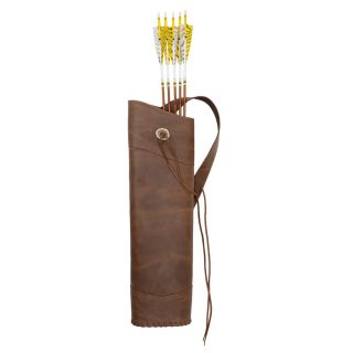 Bearpaw Back Quiver Crazy Horse