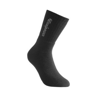 Woolpower Sock Logo 400 Black