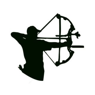Arctec Archery Decal Sticker Compound