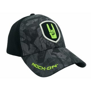 Nock On Cap Black Stealth Fitted
